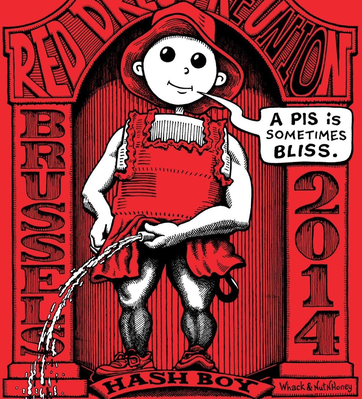 Hash Boy Brussels Red Dress (2014) Tee