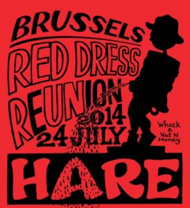 Hash Boy Brussels Red Dress (2014) Hare Tee