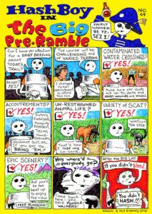 Hash Boy #64 The Big Pre-Ramble