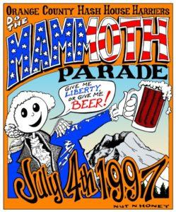 Hash Boy OCHHH Mammoth Hash Parade (1997) Tee