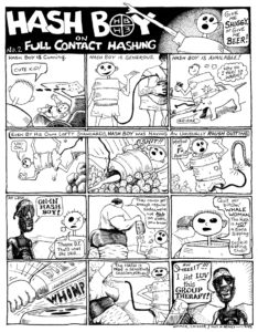 Hash Boy #2 Full Contact Hashing