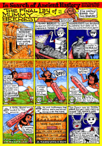 Hash Boy #42 The Final Lay of Mummy Beerest