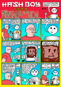 Hash Boy #51 HB Gets Half-Mentalphysical
