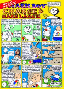 Hash Boy #54 Charge & Hare Large