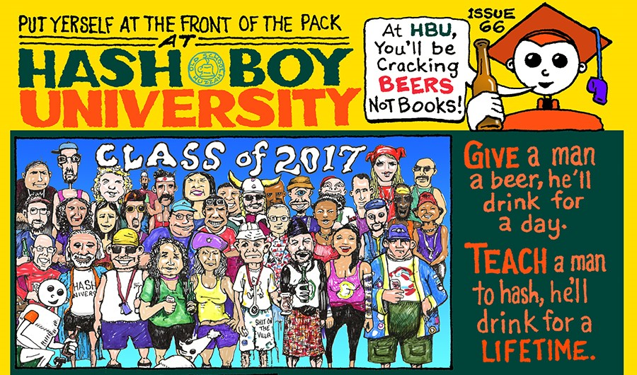 Hash Boy #66 University Enrollment Announce