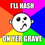 Hash Boy Meme