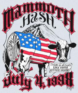 Hash Boy OCHHH Mammoth Hash Cow (1998) Tee