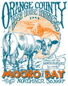 """OCHHH Mooro Bay - """"The Sunday Run"""" (1997) Tee"""