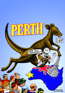 Asia-Pacific Harrier Perth Cover Art Only (2008)