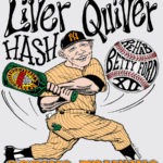 OCHHH Betty Ford Rehab Hash XII Jersey Shirt Back (1998) Mickey Mantle by Nut N Honey