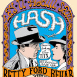 OCHHH Betty Ford Rehab Hash XIII Henley Shirt Back (1999) Humphrey Bogart