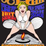 OCHHH Betty Ford Rehab Hash XV Henley Shirt Back (2001) Marilyn Monroe