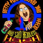 Ozzy Osbourne OCHHH Betty Ford Rehab Hash XVII Tee Shirt Back (2003) Ozzy Osbourne by Nut N Honey
