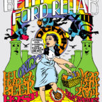 OCHHH Betty Ford Rehab Hash XVIII Henley Tee Shirt Back (2004) Judy Garland
