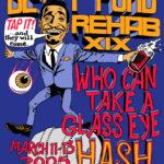 OCHHH Betty Ford Rehab Hash XIX Tee Shirt Back (2005) Sammy Davis Jr.