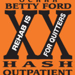 OCHHH Betty Ford Rehab Hash XX Scrub Shirt Front (2006) BFR Outpatient
