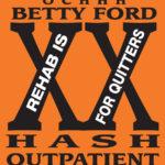 OCHHH Betty Ford Rehab Hash XX Scrub Shirt Front (2006) BFR Outpatient