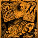 OCHHH Betty Ford Rehab Hash XX Tee Shirt Back (2006) Moses