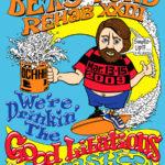 OCHHH Betty Ford Rehab Hash XXIII Tee Shirt Front (2009) Brian Wilson