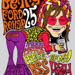 OCHHH Betty Ford Rehab Hash XXV Tee Shirt Back (2011) Janis Joplin
