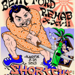 OCHHH Betty Ford Rehab Hash XXVII Tee Shirt Back (2013) John Belushi