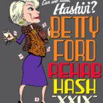 OCHHH Betty Ford Rehab Hash XXIX Tee Shirt Back (2015) Joan Rivers