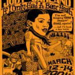 OCHHH Betty Ford Rehab Hash XVIII BFR Flyer (2004) Judy Garland