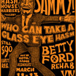 OCHHH Betty Ford Rehab Hash XIX BFR Rego Flyer (2005) Sammy Davis Jr.