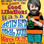 OCHHH Betty Ford Rehab Hash XXIII BFR Flyer (2009) Brian Wilson