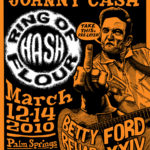 OCHHH Betty Ford Rehab Hash XXIV BFR Flyer (2010) Johnny Cash
