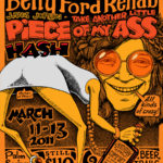 OCHHH Betty Ford Rehab Hash XXV BFR Flyer (2011) Janis Joplin