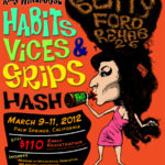 OCHHH Betty Ford Rehab Hash XXVI BFR Rego Flyer (2012) Amy Winehouse