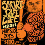 OCHHH Betty Ford Rehab Hash XXVII BFR Flyer (2013) John Belushi