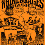 OCHHH Betty Ford Rehab Hash XXVIII BFR Flyer (2014) Barry Bonds & Mark McGwire
