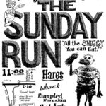 OCHHH Betty Ford Rehab Hash XIII Sunday Run Flyer (1999) Humphrey Bogart Sunday Run (2008)