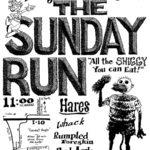 OCHHH Betty Ford Rehab Hash XIII Sunday Run Flyer (1999) Humphrey Bogart Sunday Run (2008)