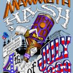 Hash Boy OCHHH Mammoth Hash Beer Ride (1999) Tee