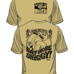 Hash Boy Eat More Shiggy Tee Shirt Model