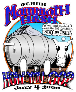 Hash Boy OCHHH Mammoth Hash Foamy How You Go (2000) Tee