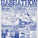 Hash Boy Humpin' Hash 8th Hashathon (2007) Tee