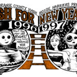 Hash Boy OCHHH New Years Eve Hash (1996-97) Tee