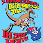 Hash Boy Socal IH Perth Elite Hare Snare Team (2008) Tee