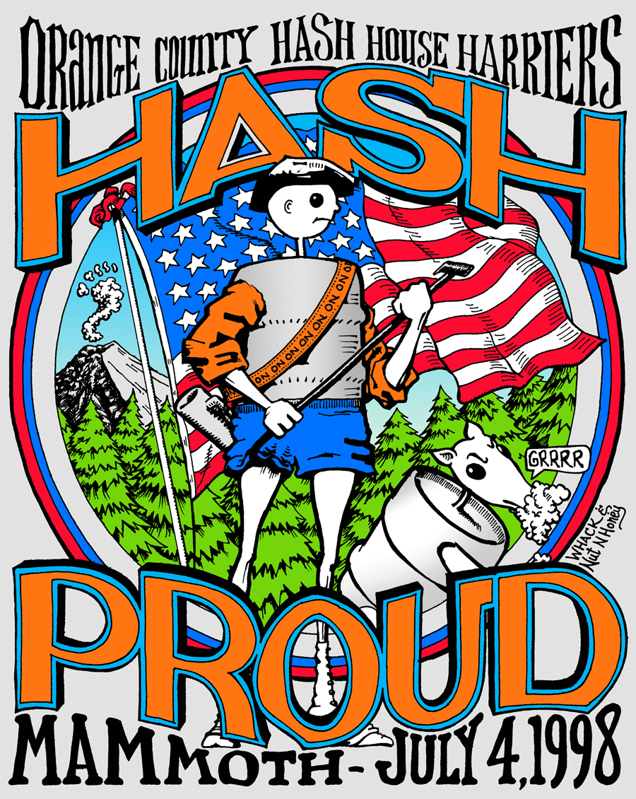 Hash Boy OCHHH Mammoth Hash Proud (1998) Tee Back
