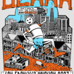 Running Hash Boy OCHHH San Francisco Invasion (2007) Tee by Nut N Honey