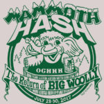 Hash Boy OCHHH Mammoth Hash Return of Big Woolly (2017) Tee by Nut N Honey
