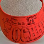 OCHHH Betty Ford Rehab Hash XII (1998) Nut N Honey hand-drawn Visor