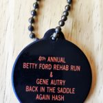OCHHH Betty Ford Rehab Hash IV (1990) Unlucky Hare's Foot Keychain - Gene Autry