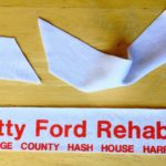 OCHHH Betty Ford Rehab Hash V (1991) Headband