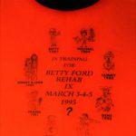 OCHHH Betty Ford Rehab Hash VIII (1994) - In Training for BFR IX Tee Front