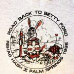 OCHHH Betty Ford Rehab Hash X (1996) Tank Front